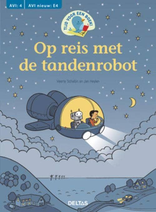 Tijd voor een boek! Op reis met de tandenrobot - AVI: E4
