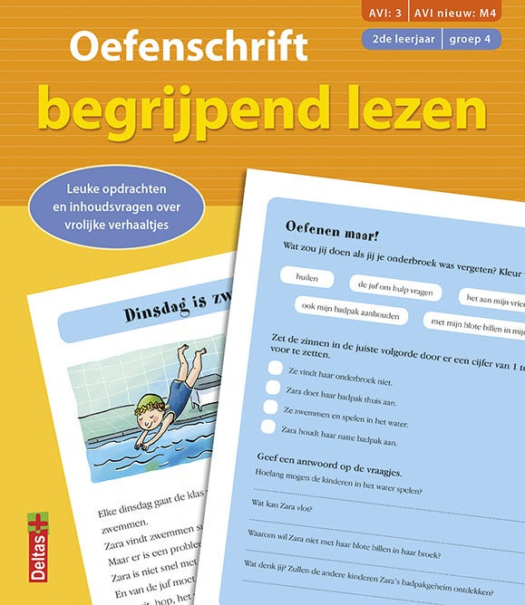 Oefenschrift begrijpend lezen - AVI: M4