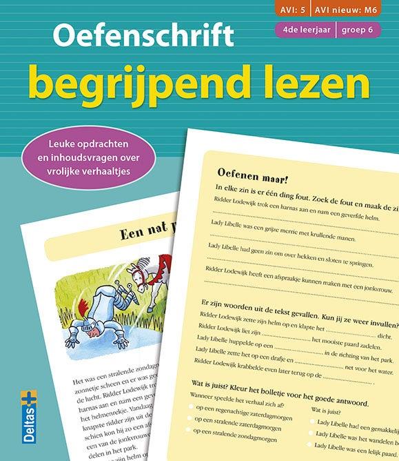Oefenschrift Begrijpend Lezen - AVI M6