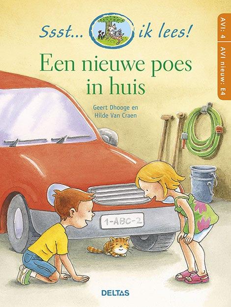 Ssst... ik lees! Een nieuwe poes in huis  (AVI 4 - AVI nieuw E4)