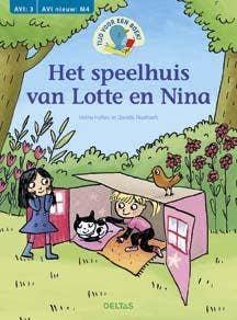 Tijd voor een boek! Het speelhuis van Lotte en Nina (AVI:3  AVI nieuw: M4)