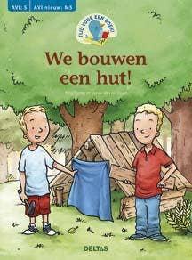Tijd voor een boek! We bouwen een hut! - AVI: M5