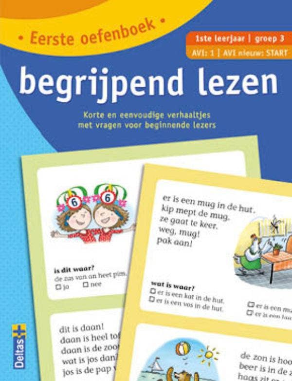 Eerste oefenboek begrijpend lezen