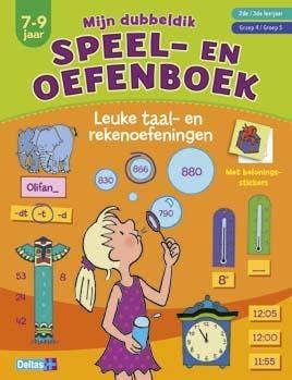 Mijn dubbeldik speel- en oefenboek - leuke taal- en rekenoefeningen
