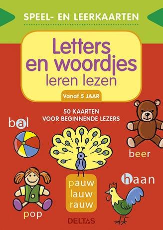 Letters en woordjes leren lezen - speel- en leerkaarten