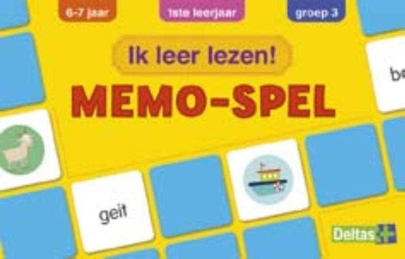 Ik leer lezen! Memo-spel - groep 3