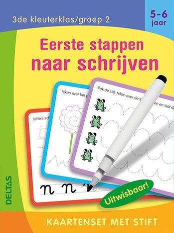 Eerste stappen naar schrijven - kaartenset met stift