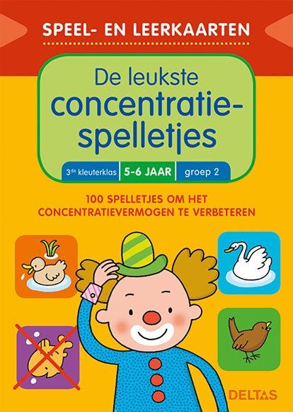 Speel- en leerkaarten - De leukste concentratiespelletjes