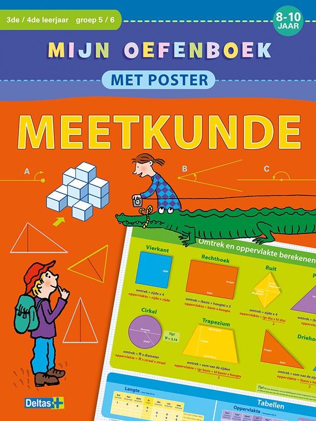 Mijn oefenboek met poster - Meetkunde