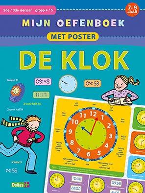 Mijn oefenboek met poster - De Klok - groep 4 en 5
