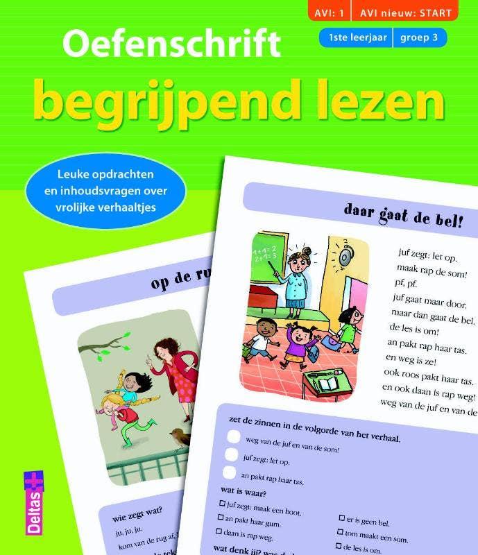 Oefenschrift begrijpend lezen - AVI: START
