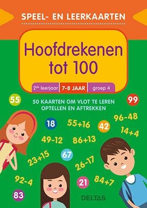 Speel- en leerkaarten - Hoofdrekenen tot 100 (7-8 j.)