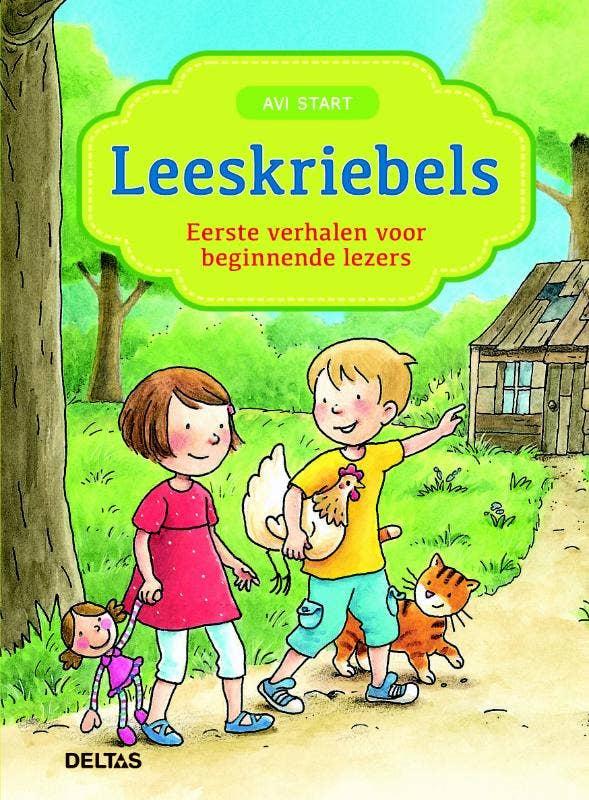 Leeskriebels - Eerste verhalen voor beginnende lezers - AVI Start