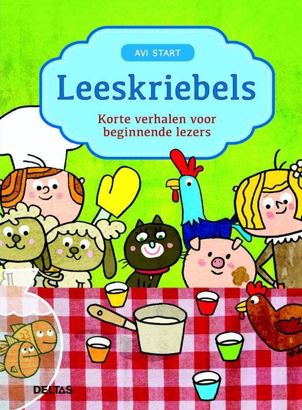Leeskriebels - Korte verhalen voor beginnende lezers - AVI Start