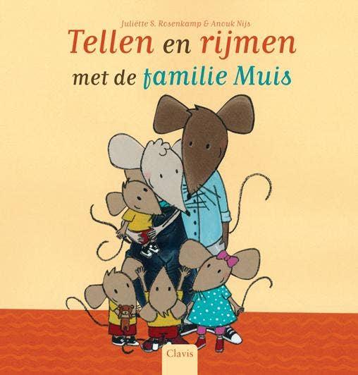 Tellen en rijmen met de familie Muis