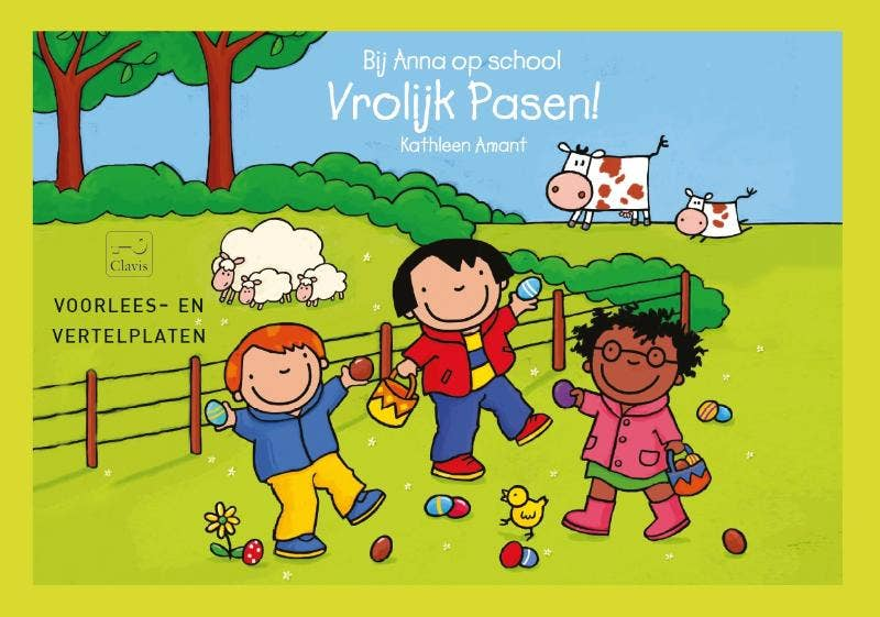Bij Anna op school. vrolijk Pasen!