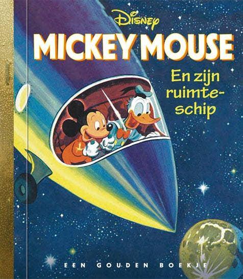 Mickey Mouse en zijn ruimteschip