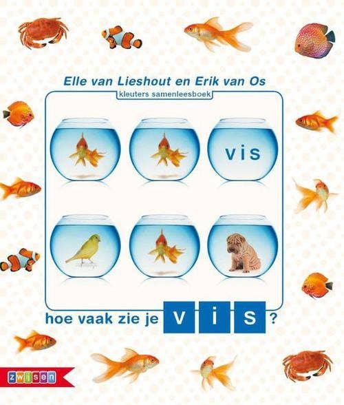 Hoe vaak zie je vis?