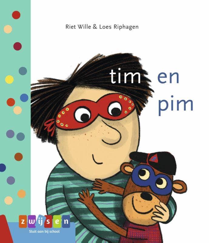 leren lezen - tim en pim