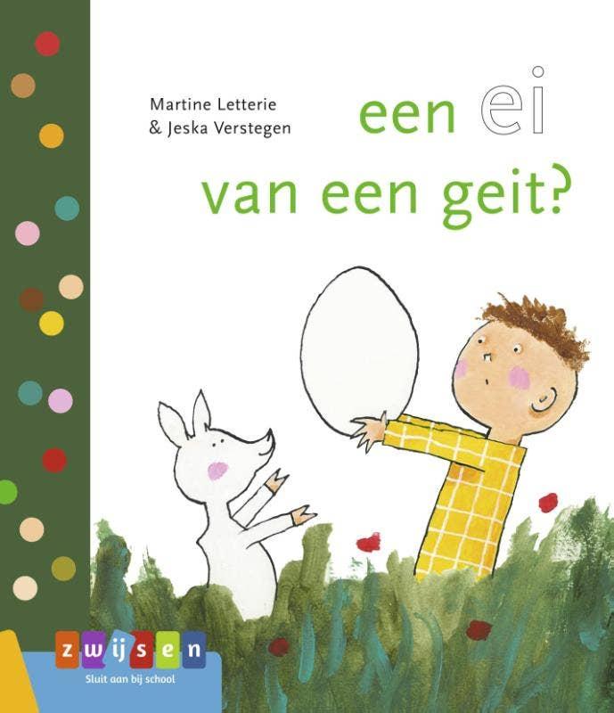 leren lezen - een ei van een geit?