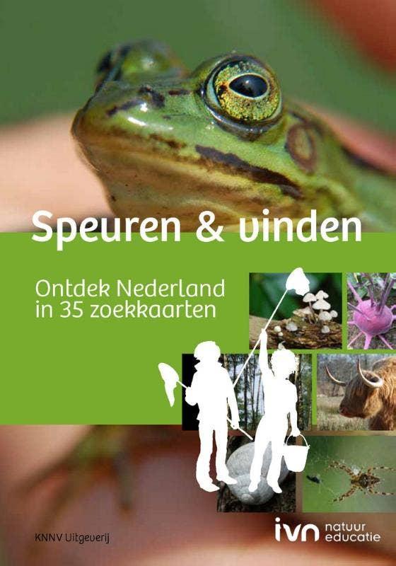 Speuren & vinden - natuurgids zoekkaarten boek