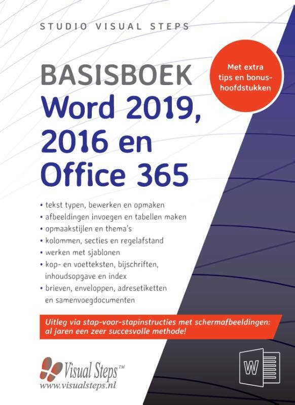 Basisboek Word 2019; 2016 en Office 365