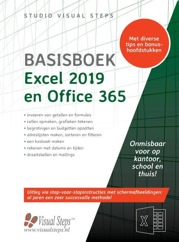 Basisboek Excel 2019; 2016 en Office 365