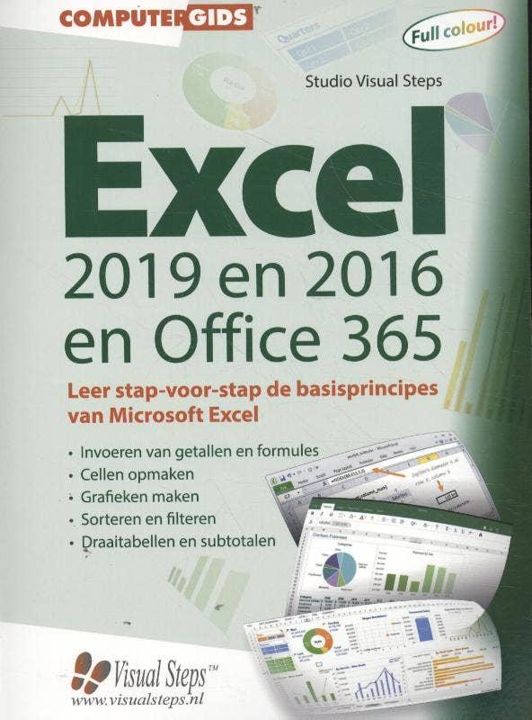 Computergidsen - Computergids Excel 2019; 2016 en Office 365