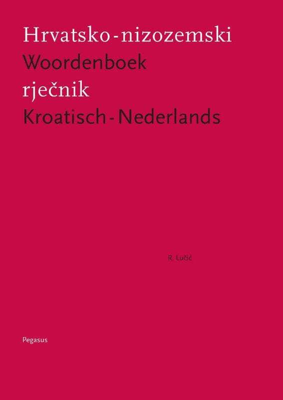 Woordenboek Kroatisch-Nederlands