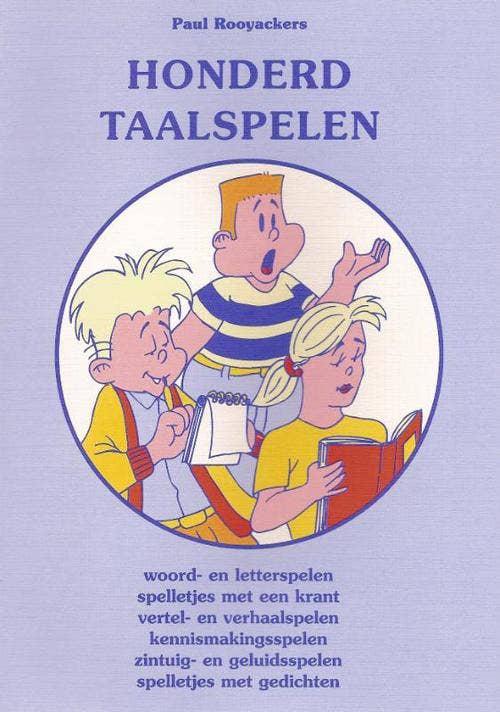 Educatieve spelenboeken Honderd taalspelen