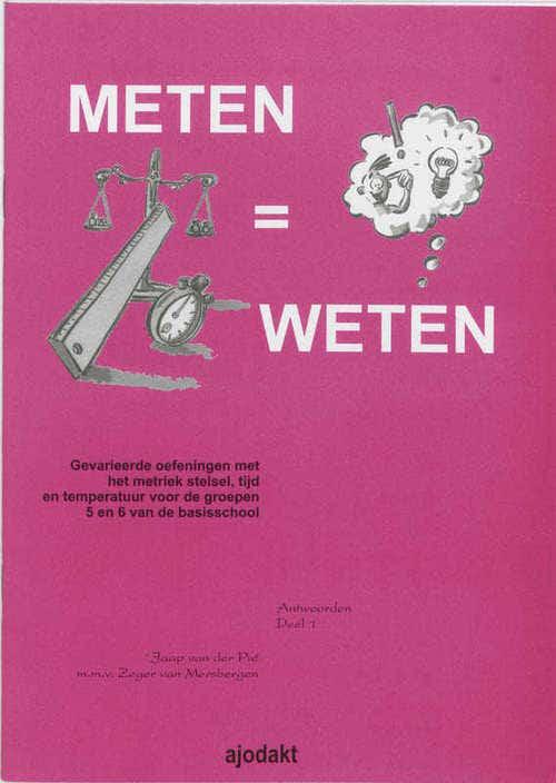 Meten = weten - Groep 5/6 - Antwoordenboek