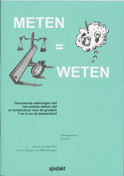 Meten = weten - Groep 7/8 - Antwoordenboek