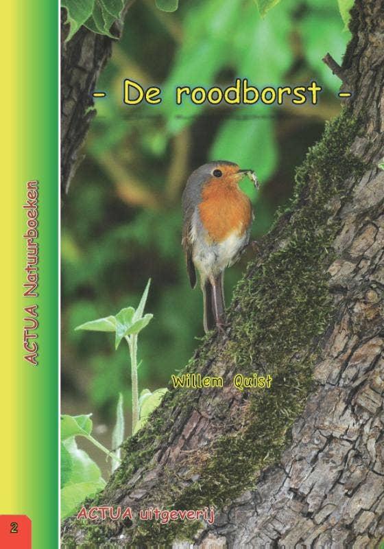 ACTUA Natuurboeken - De roodborst