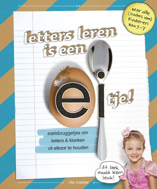 Letters leren is een eitje!