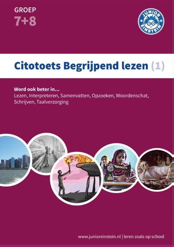 Citotoets begrijpend lezen 1  Oefenboek: groep 7 en 8