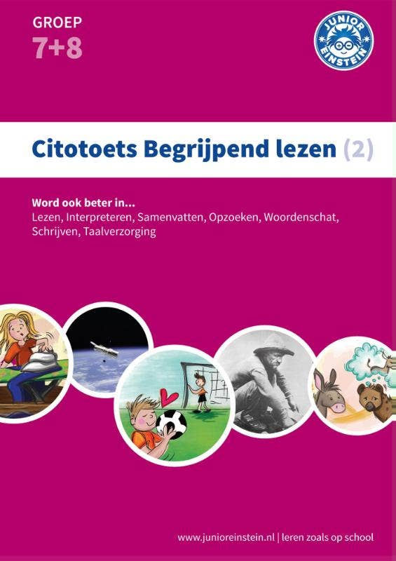 Citotoets begrijpend lezen 2; Groep 7 en 8 Oefenboek