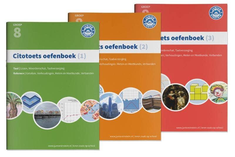 Citotoets oefenboeken compleet groep 8