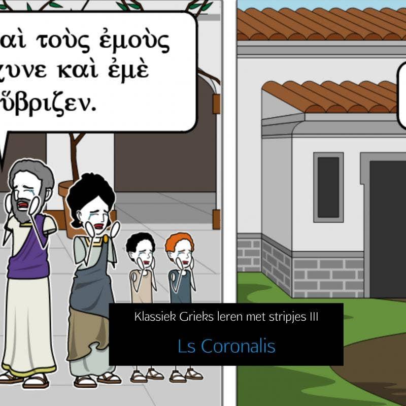 Klassiek Grieks leren met stripjes III