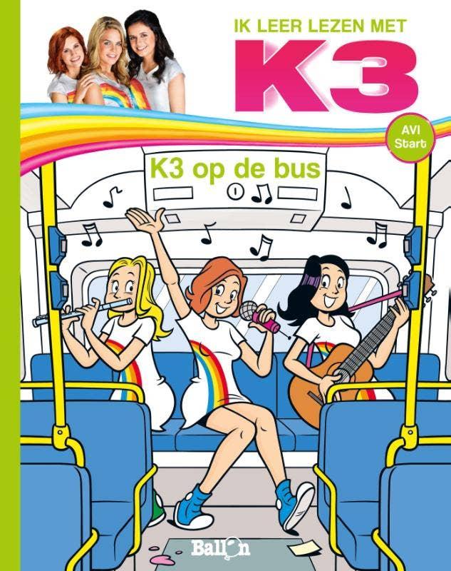 K3 AVI - K3 op de bus AVI Start