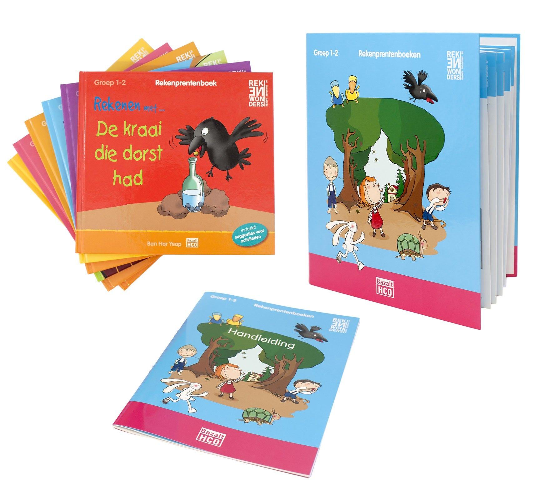 Rekenprentenboeken - Pakket 3 - Complete set: ringband + 6x serie 6 prentenboeken