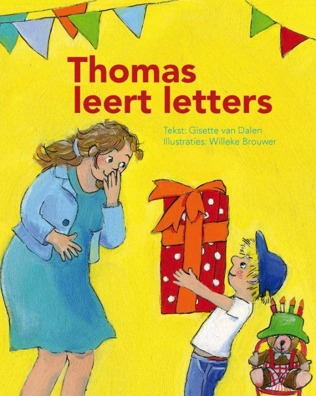 Thomas leert letters