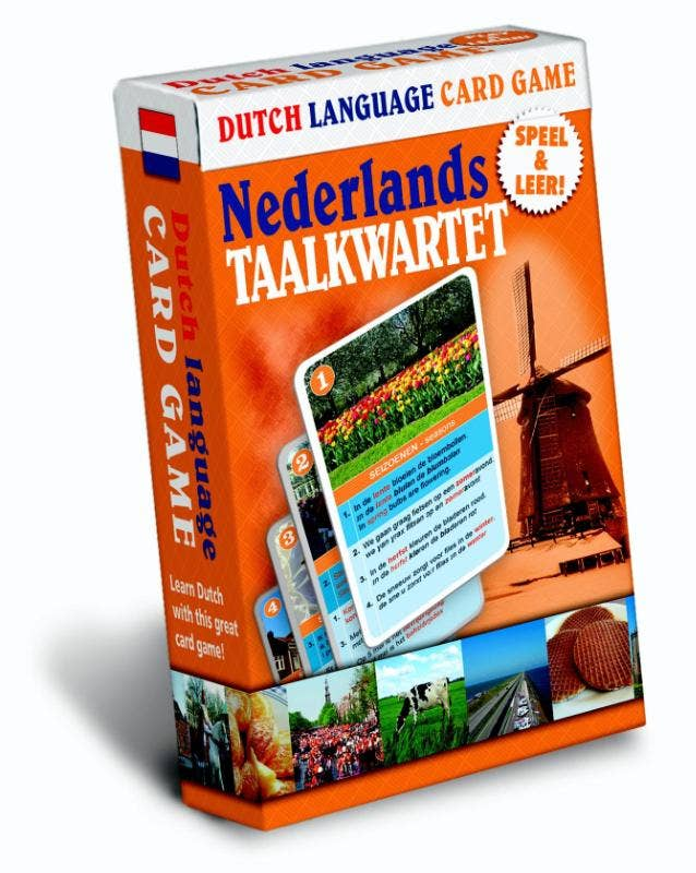 Nederlands Taalkwartet  Dutch language card game