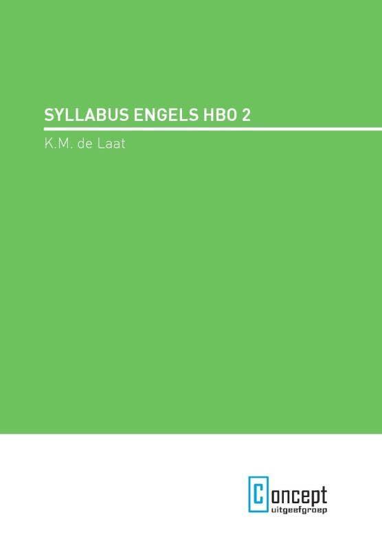 Syllabus engels hbo 2