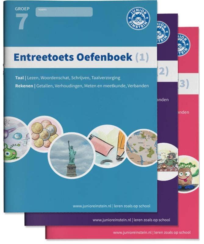 Entreetoets oefenboeken compleet - Delen 1