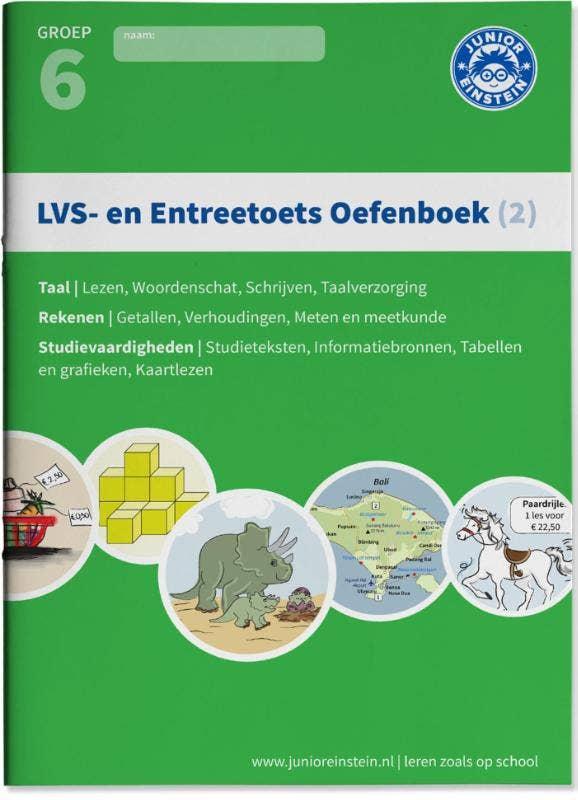 LVS- en entreetoets oefenboek (2) Deel 2 - Gemengde opgaven - Groep 6 opgaven voor rekenen