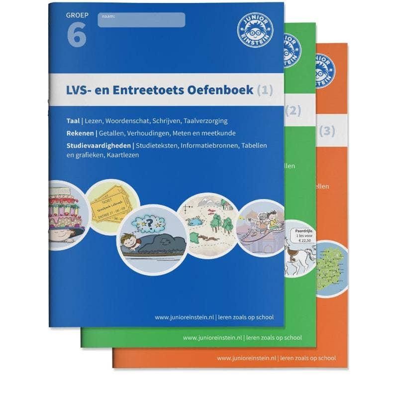 LVS- en entreetoets oefenboeken compleet Delen 1