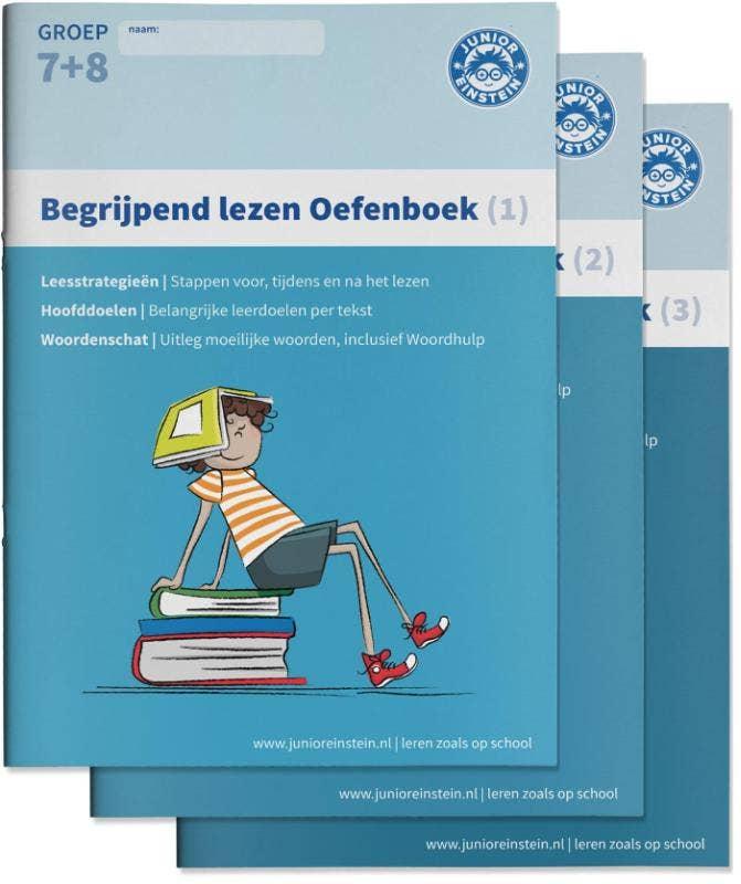 Begrijpend lezen Oefenboeken Compleet Delen 1
