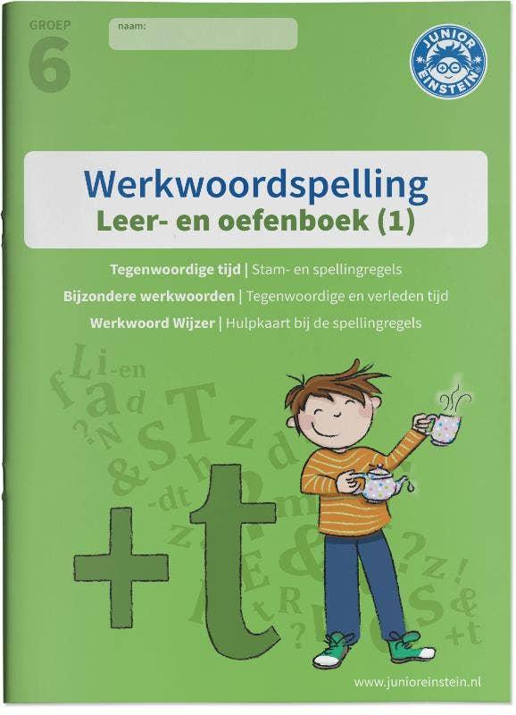 Werkwoordspelling Leer- en Oefenboek groep 6 (1) 1 - De stam; tegenwoordige tijd en bijzonder werkwoorden Gemengde opgaven voor werkwoordspelling