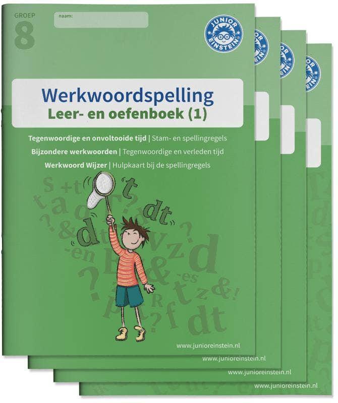 Werkwoordspelling Leer- en Oefenboeken groep 8 - Compleet pakket