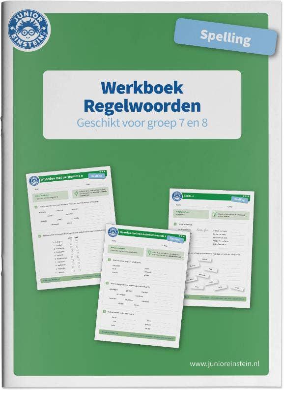 Werkboek Spelling Regelwoorden groep 7 en 8